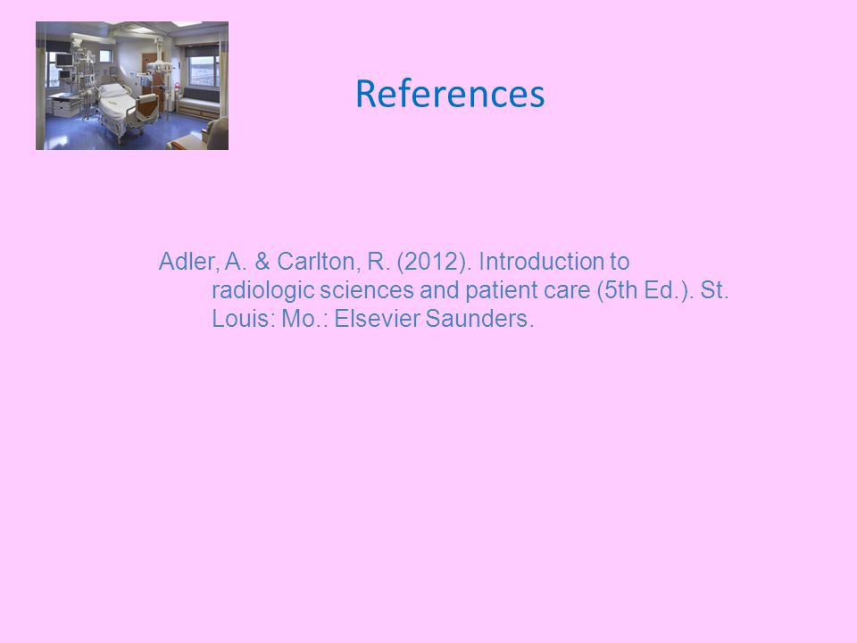 References Adler, A. & Carlton, R. (2012).