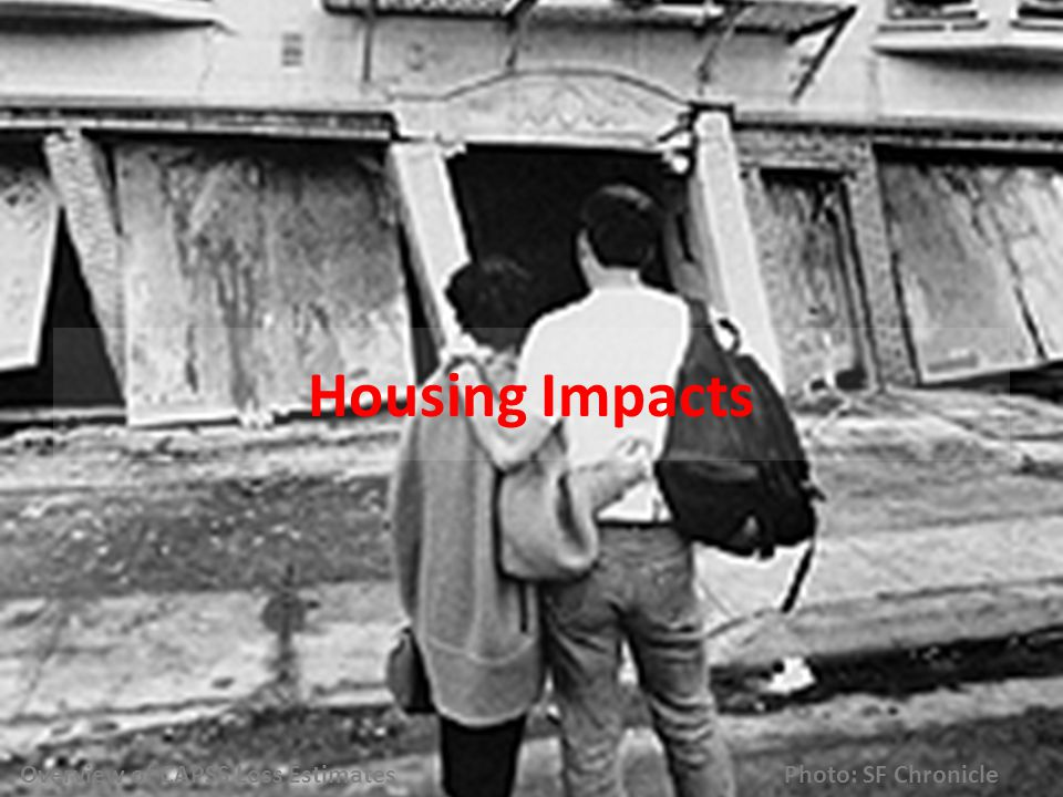 Housing Impacts Overview of CAPSS Loss Estimates Photo: SF Chronicle
