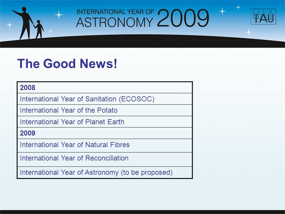 The Good News.