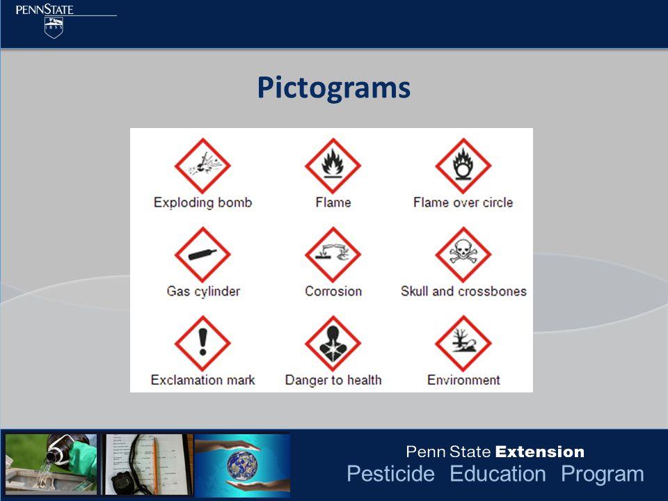 Pesticide Education Program Pictograms