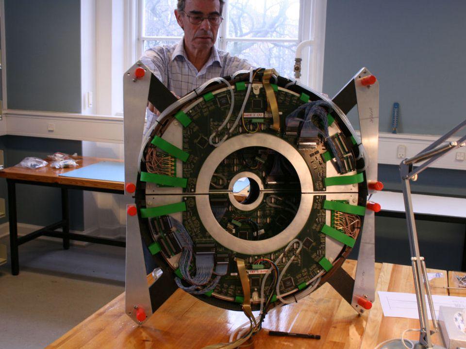 CR7-FMD, 19 March 2007Jens Jørgen Gaardhøje, Niels Bohr Institute 8