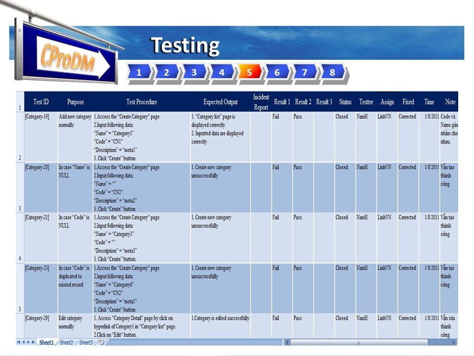 Testing 12345678