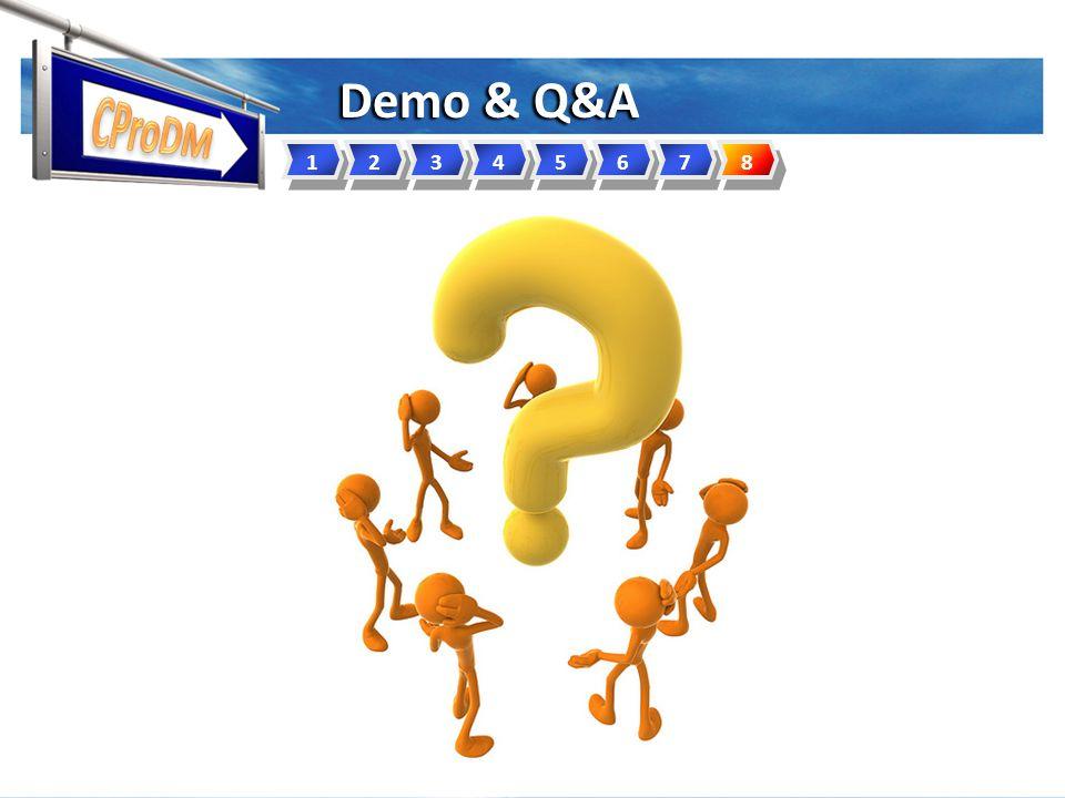 12345678 Demo & Q&A