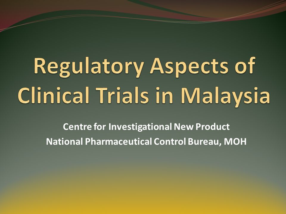 TIMELINE FOR APPROVAL IN MALAYSIA EC, MOH4 – 8 weeks Universities4 – 8 weeks National Heart Institute3 – 6 weeks DCA30 working days* 42 *Note: except for first in man trial, advanced therapy medicinal product (ATMP), Biotechnology product and Herbal products.