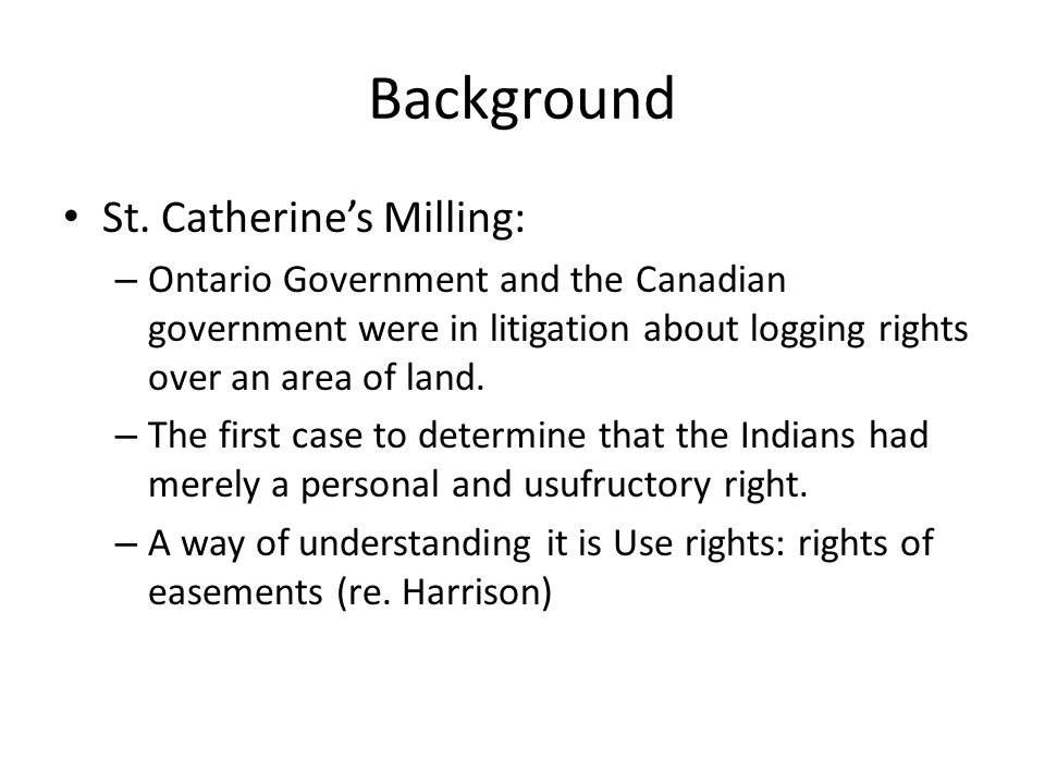 Algonquins of Ontario Never had a treaty 1772: First petitioned for recognition and protection 1983: Most recent petition for treaty 1991: Accepted for negotiation by Ontario 1992: Joined by Canada 1994: Statement of Shared Objectives (re-aff'd 2006) – Consultation files process since 2006 2009: Consultation Process Interim Measures Agreement 2012: Draft Preliminary Agreement in Principle [Does not include Quebec-side Algonquins]