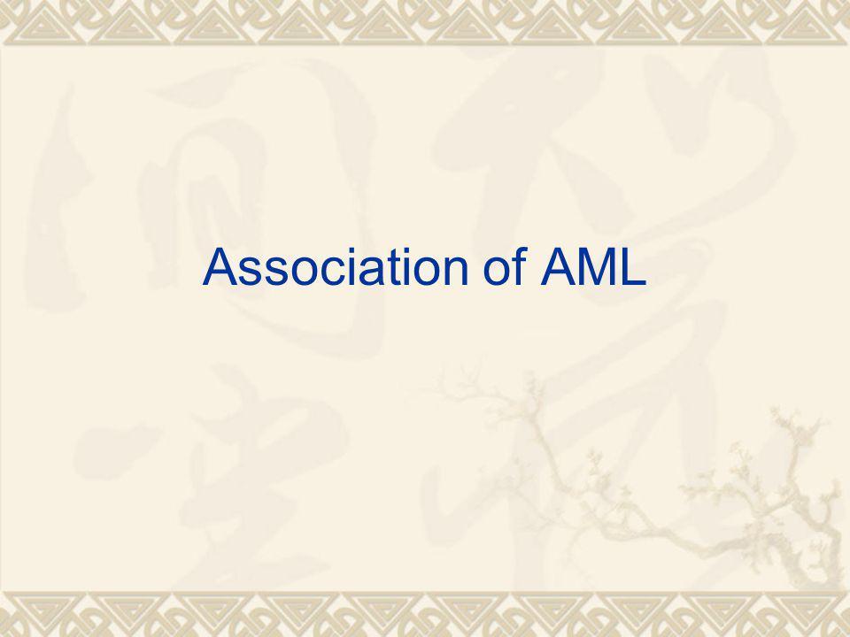 Association of AML