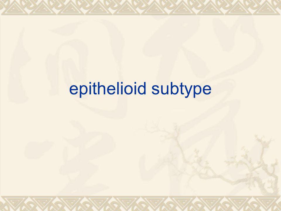 epithelioid subtype