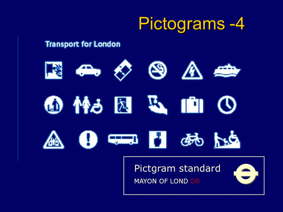 Pictograms - 3