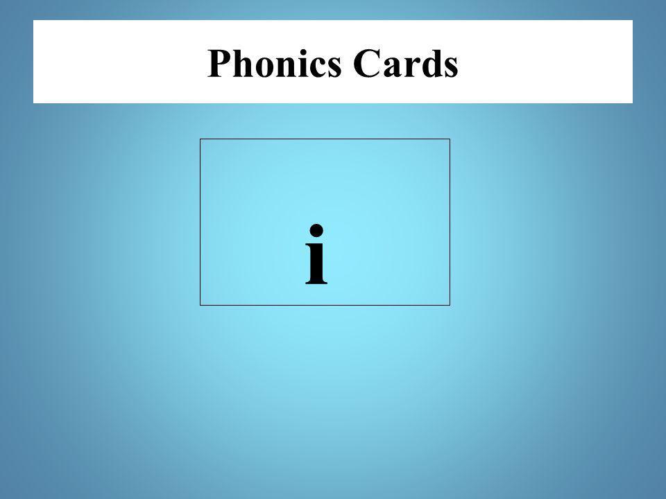 Phonics Cards i