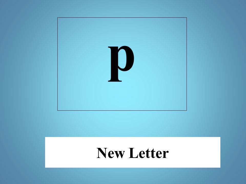 New Letter p
