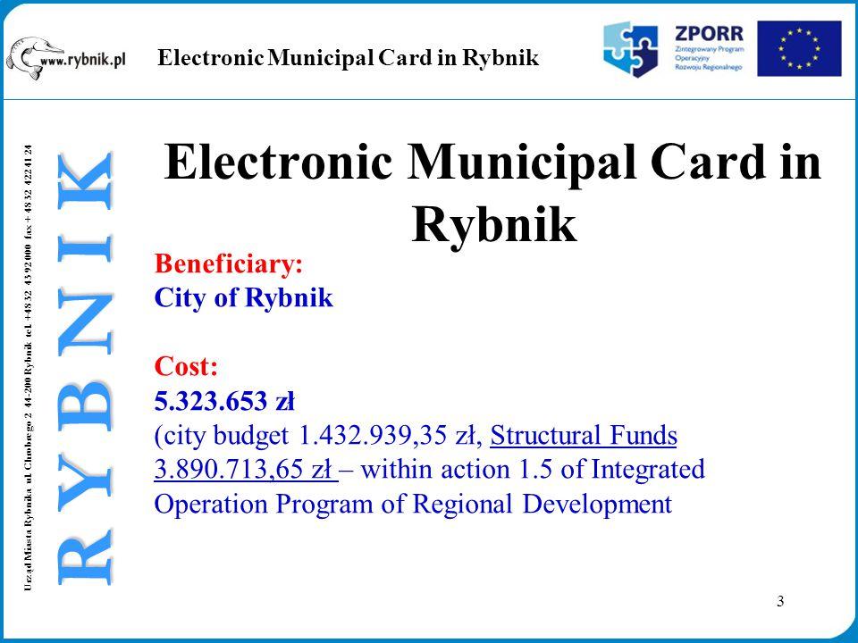 3 Urząd Miasta Rybnika ul. Chrobrego 2 44-200 Rybnik tel.