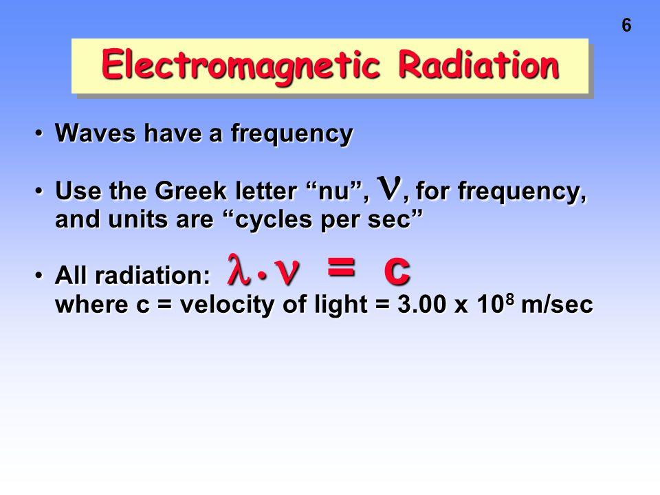 5 wavelength Visible light wavelength Ultaviolet radiation Amplitude Node Electromagnetic Radiation