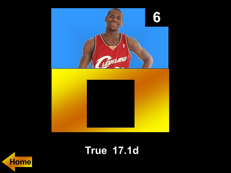 6 True 17.1d