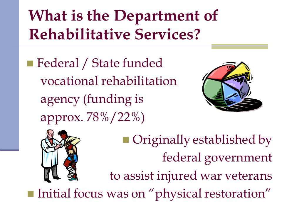 What is the Department of Rehabilitative Services.