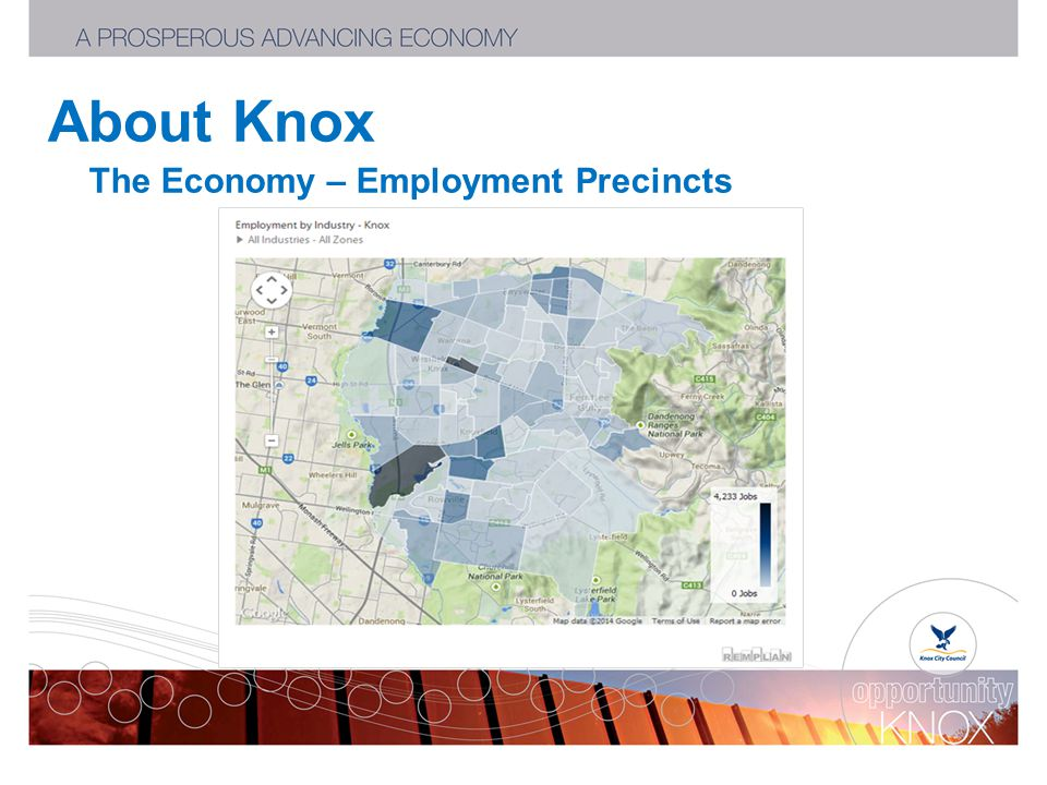 About Knox The Economy – Employment Precincts
