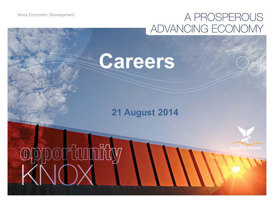 Careers 21 August 2014