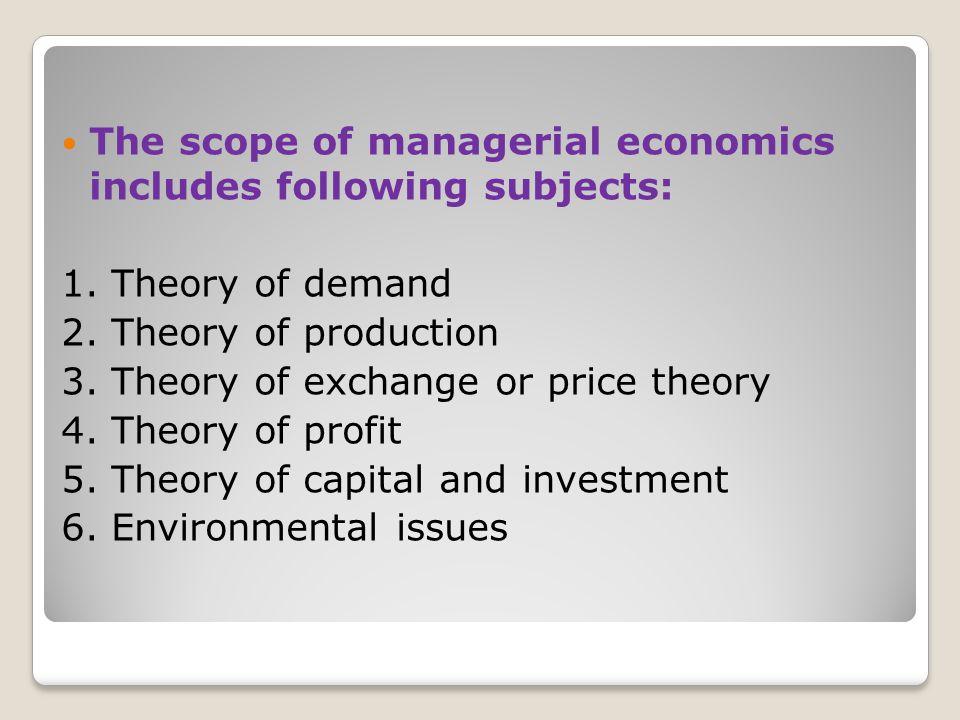 Importance of managerial economics the importance of managerial economics in a business and industrial enterprise as follows: 1.