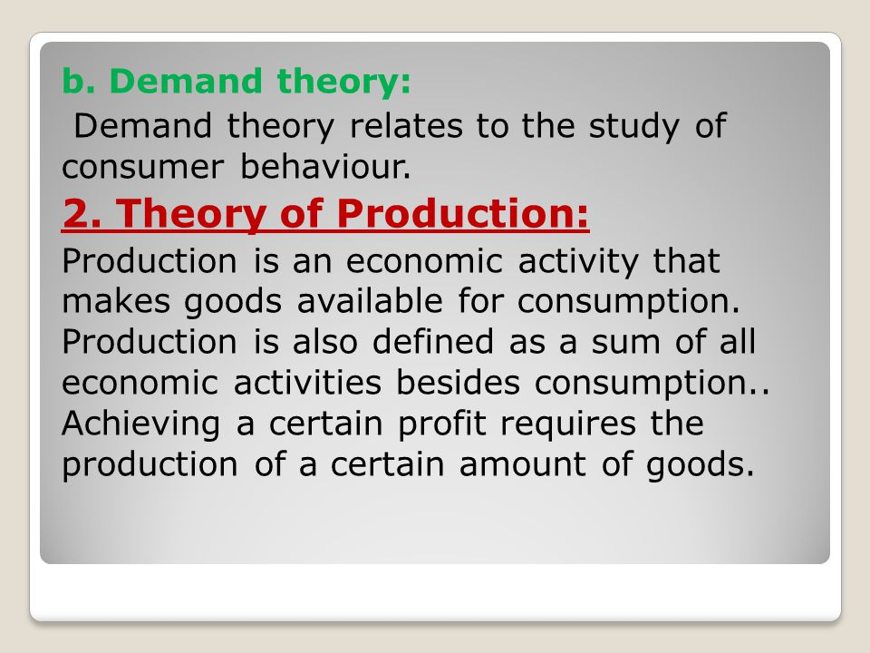 5.Basis of business policies: Managerial economics is the founding principle of business policies.