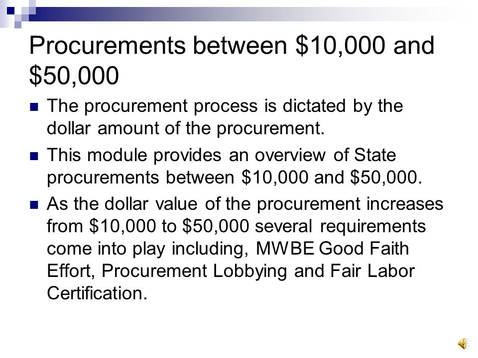 Procurement Steps: Complete Needs Assessment Can it be bought from A Preferred Source.