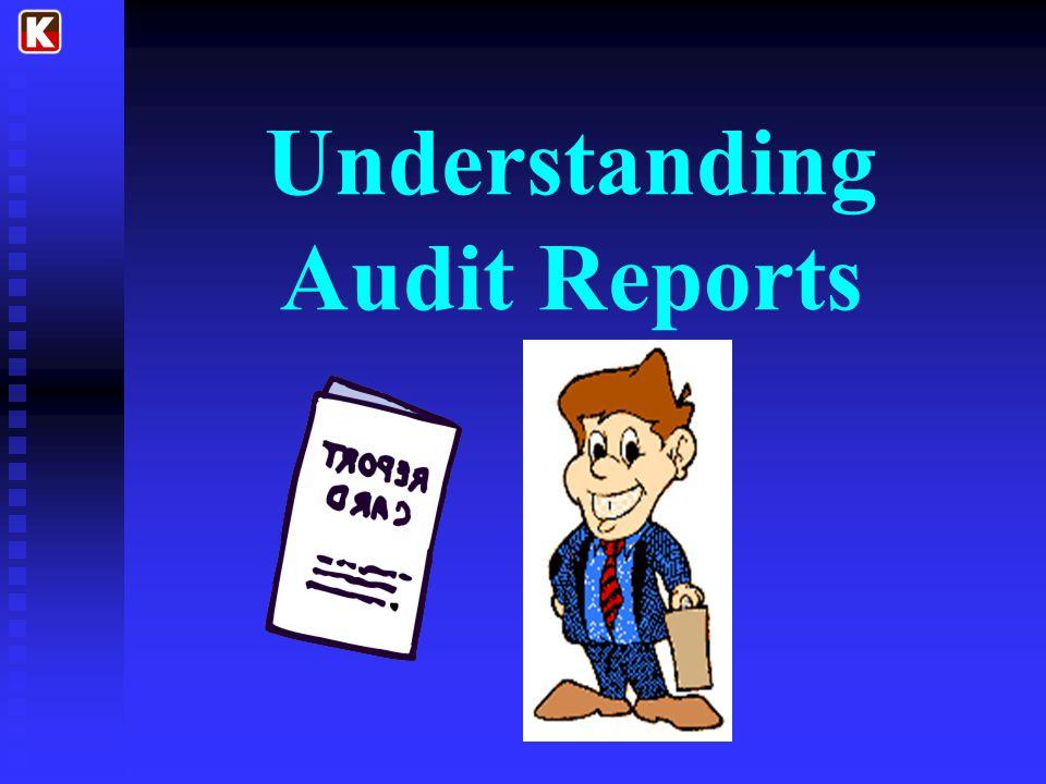 Understanding Audit Reports