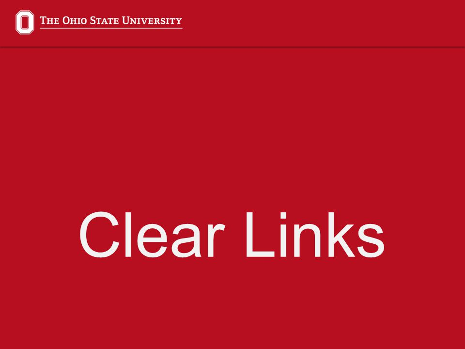 Clear Links