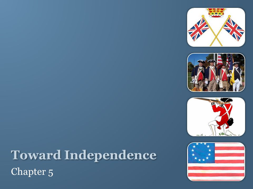 Toward Independence Chapter 5