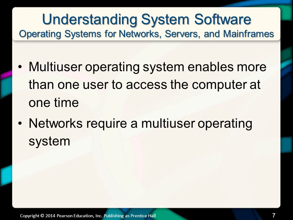 Chapter 5 Summary Questions 4.How does the operating system provide a means for users to interact with the computer.