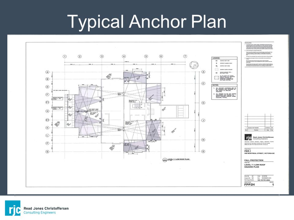 Typical Anchor Plan