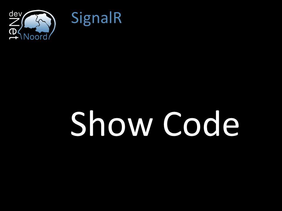 SignalR Show Code