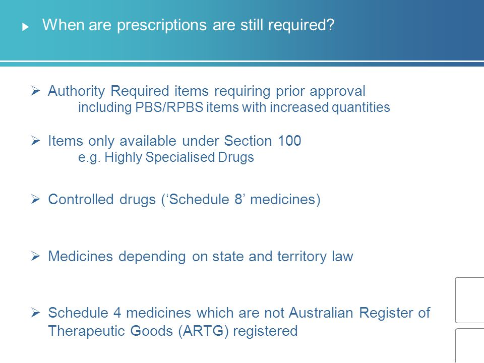 General requirements for using the NRMC Available for the prescribing, supply, administering and review of a resident's medicines.
