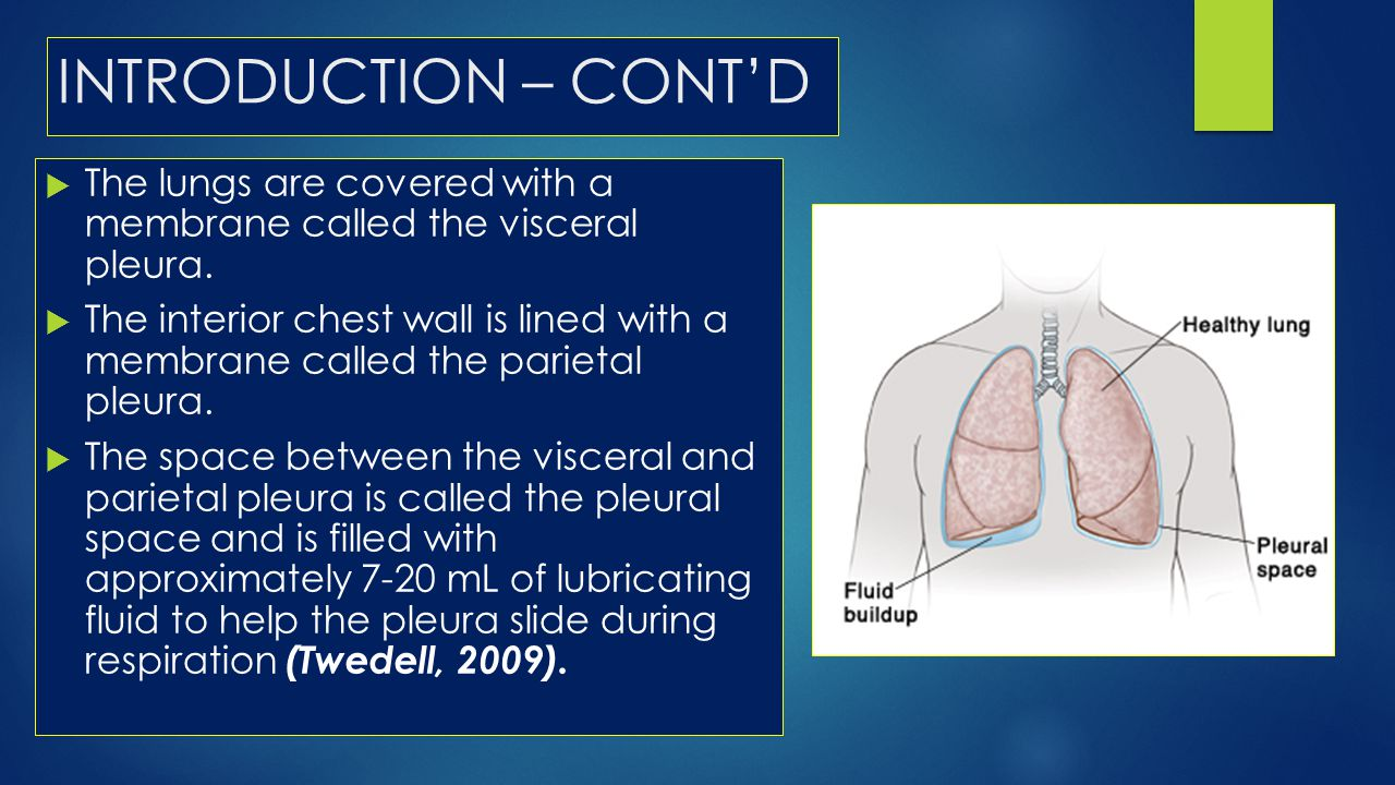NORMAL LUNG VS. LUNGS WITH PLEURISY & PNEUMOTHORAX