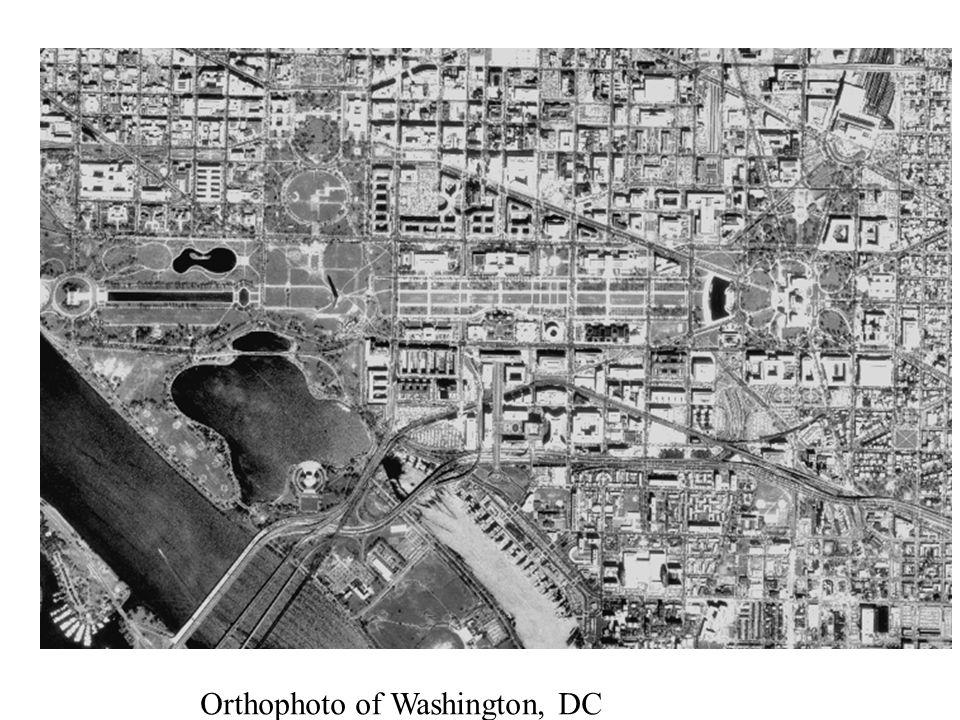 Orthophoto of Washington, DC