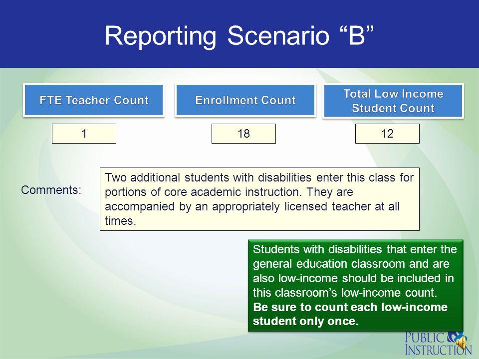 "Sample Classroom ""B"""
