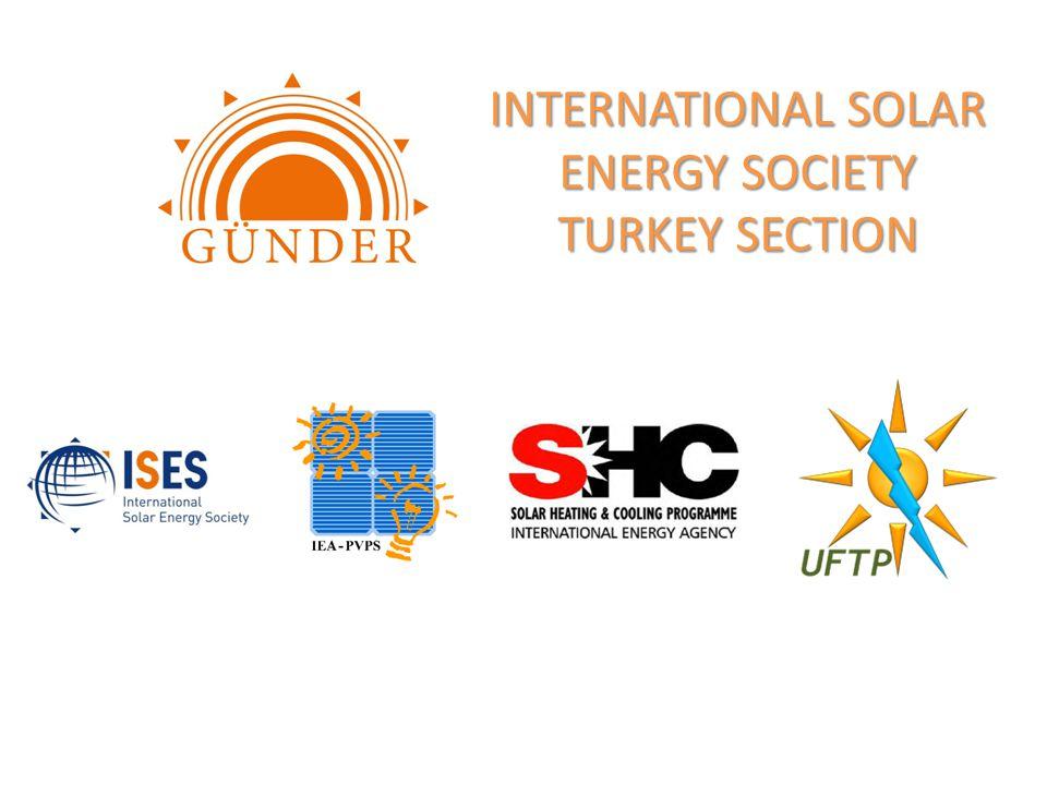 INTERNATIONAL SOLAR ENERGY SOCIETY TURKEY SECTION
