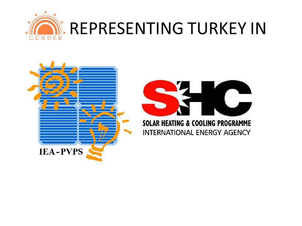 REPRESENTING TURKEY IN