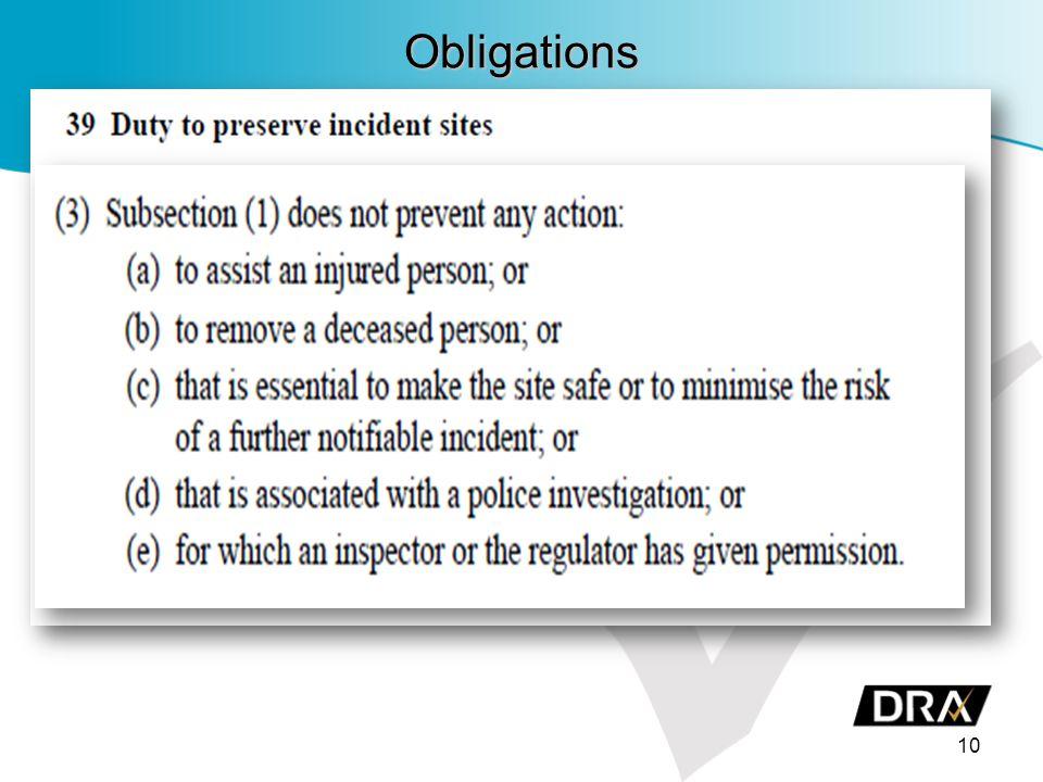 Obligations 10