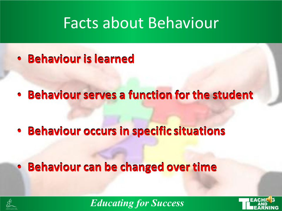 Interventions and Supports When inappropriate behaviour occurs school personnel will use a range of interventions, supports and consequences These wil
