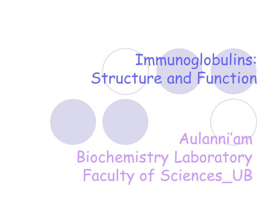 Immunoglobulin Fragments: Structure/Function Relationships Fab  Ag binding Fc  Effector functions F(ab') 2 Pepsin Fc Peptides F(ab') 2