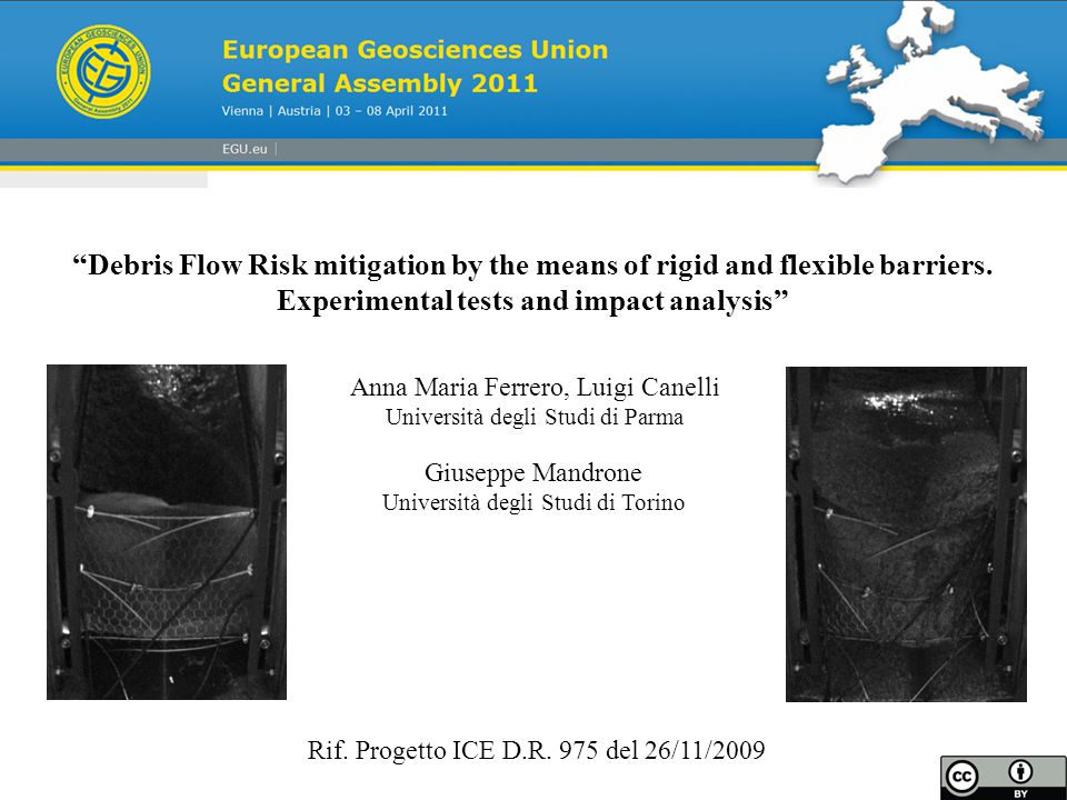 Debris Flow Risk mitigation by the means of rigid and flexible barriers.