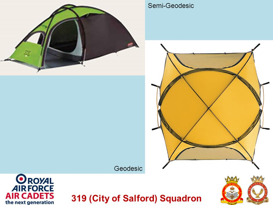 319 (City of Salford) Squadron Semi-Geodesic Geodesic