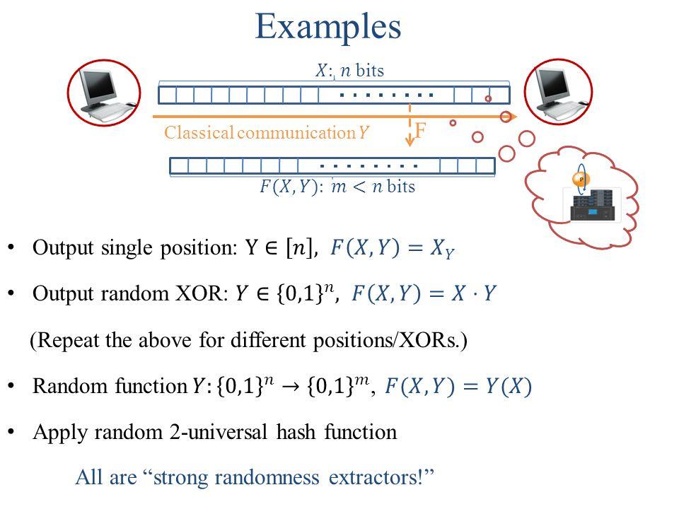 0 000111 y x + Trevisan's construction (2)