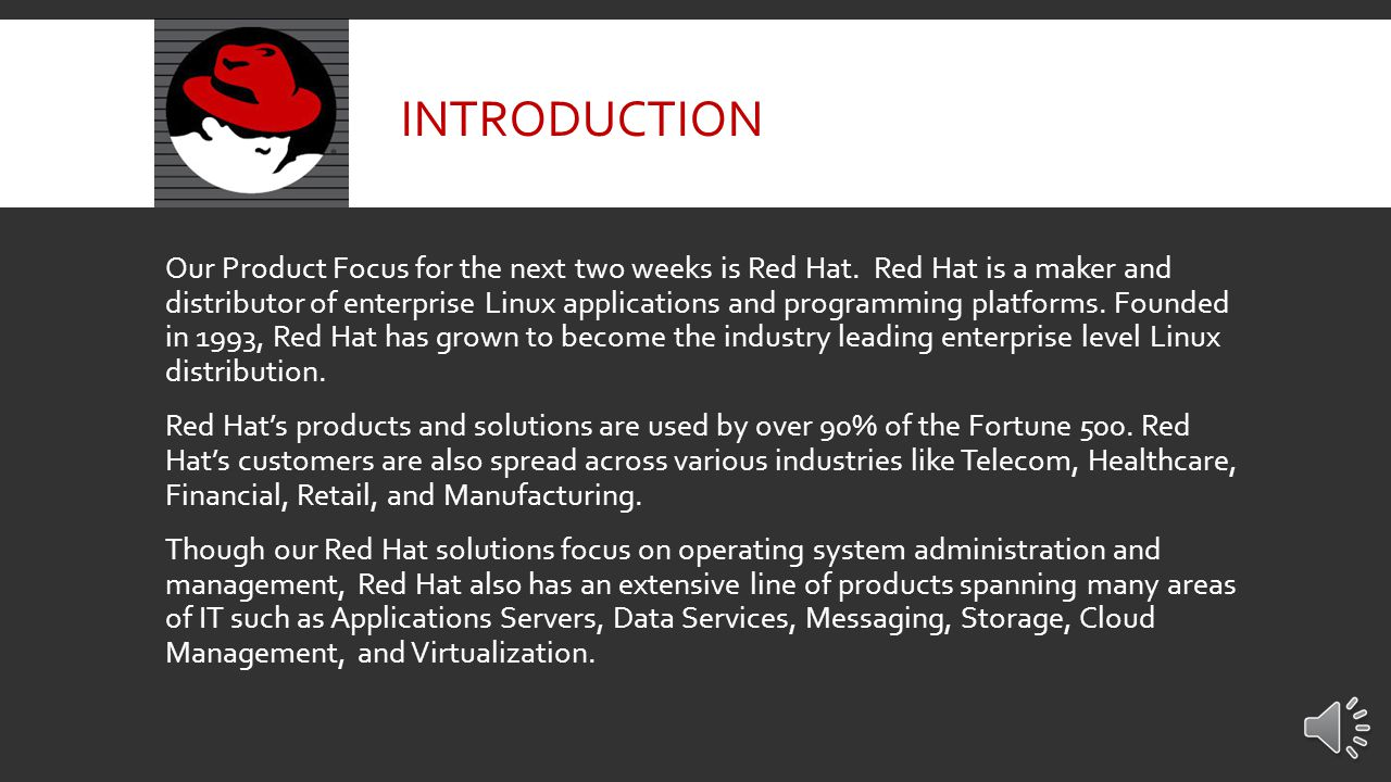 RED HAT PRODUCT FOCUS 3/17/14 – 3/28/14