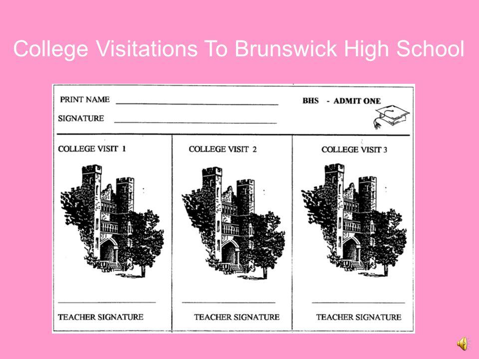 College Visitations To Brunswick High School