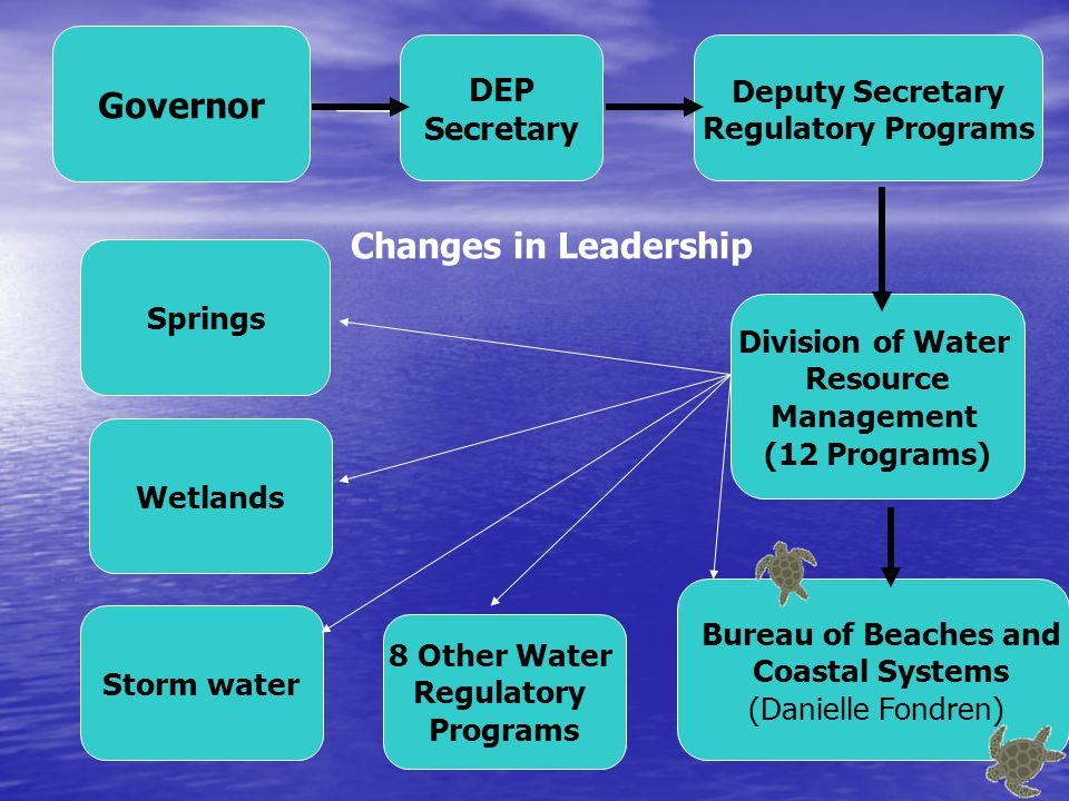 Coastal Data & Analysis: Shoreline Surveying & Monitoring, Studies Modeling, GIS Bureau of Beaches and Coastal Systems Comprehensive Beach Management Local Government Fiscal Assistance Program ($$) Regulatory Programs CCCL JCP