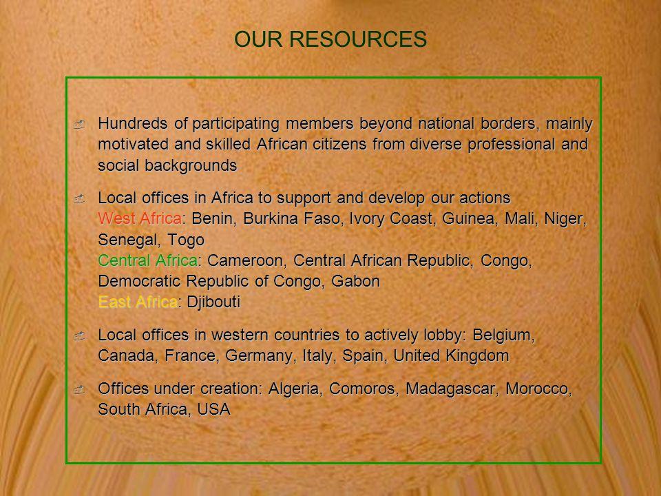 ORGANIZATION & STRUCTURE OF LOCAL OFFICES West Africa: Benin, Benin, Dossou SOKENOU -  +229 06 02 42 Burkina Faso, Burkina Faso, Hyppolyte OUEDRAOGO - amus@cenatrin.bf Ivory Coast, Ivory Coast, Maurice SYLLA - ongnatureplus@yahoo.fr Guinea, Guinea, Abou SAMAKE - abousorro@yahoo.fr Mali, Mali, Modibo DIAKITE - nepad_avenirmali@yahoo.fr Niger, Niger, Ismaël MOHAMED KHAILOU - ismoha2000@yahoo.fr Senegal, Senegal, Mouhamadou Lamine MBAYE - mlmbaye@ifrance.com Togo, Togo, Maxime ADADZI -  +28 91 89 998 Central Africa: Cameroon, Cameroon, Pamphile BEDOUNG - nepad_cameroun@yahoo.fr Congo, Congo, Etanislas NGODI - avenirnepad_congo@yahoo.fr Democratic Republic of Congo, Democratic Republic of Congo, Alain LUBELLO - avenirnepad_rdc@yahoo.fr Central African Republic, Central African Republic, Viviane GOKOUZOU - vivigok@yahoo.fr Gabon, Gabon, Thanguy NZUE OBAME - Thanguy@coopgabon.net East Africa: Djibouti, Djibouti, ADAWE Omar Houssein - adaweo@yahoo.fr