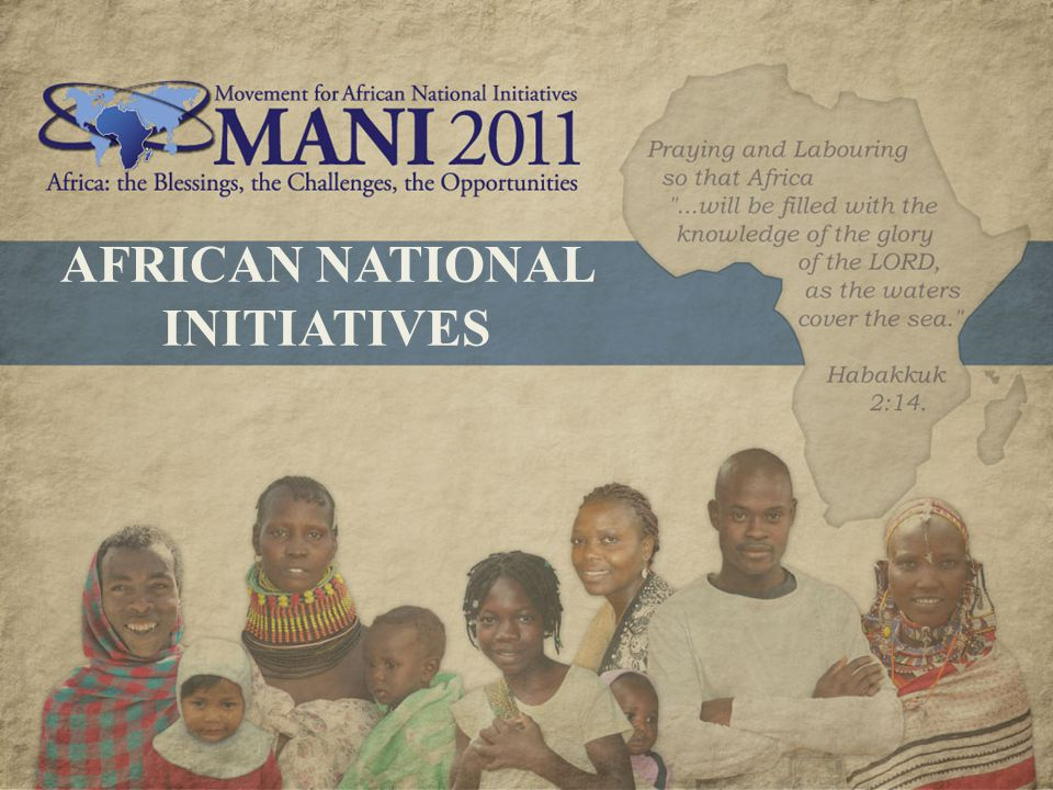 AFRICAN NATIONAL INITIATIVES