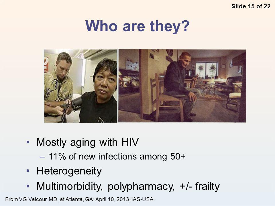 Slide 15 of 22 From VG Valcour, MD, at Atlanta, GA: April 10, 2013, IAS-USA.
