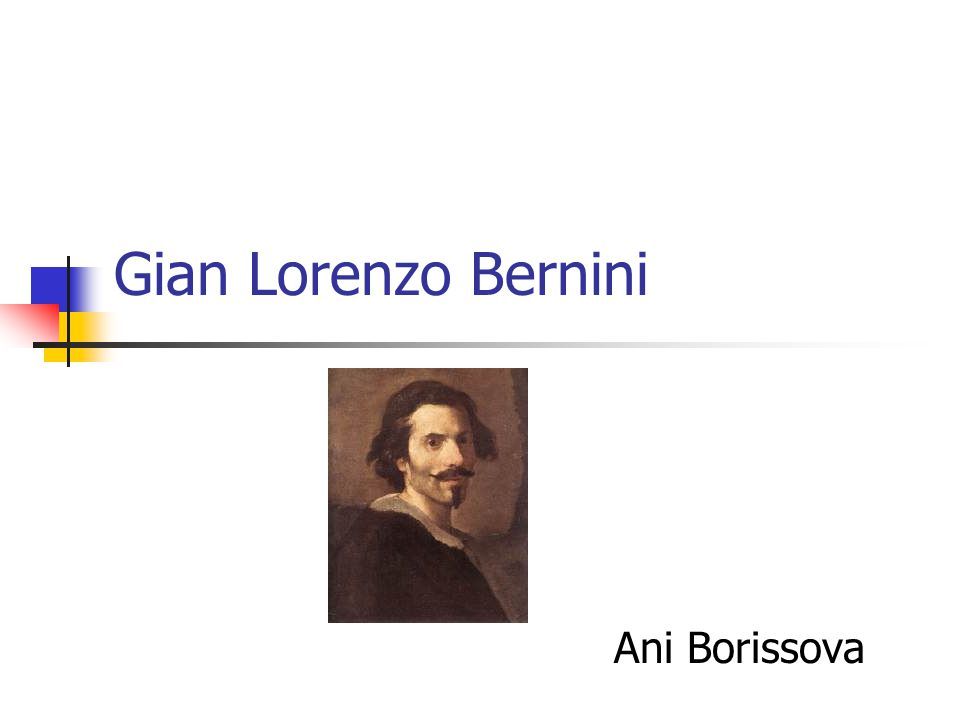 Gian Lorenzo Bernini Ani Borissova