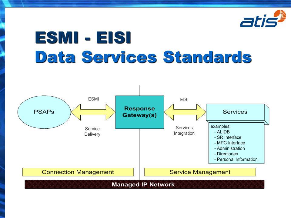 ESMI - EISI Data Services Standards
