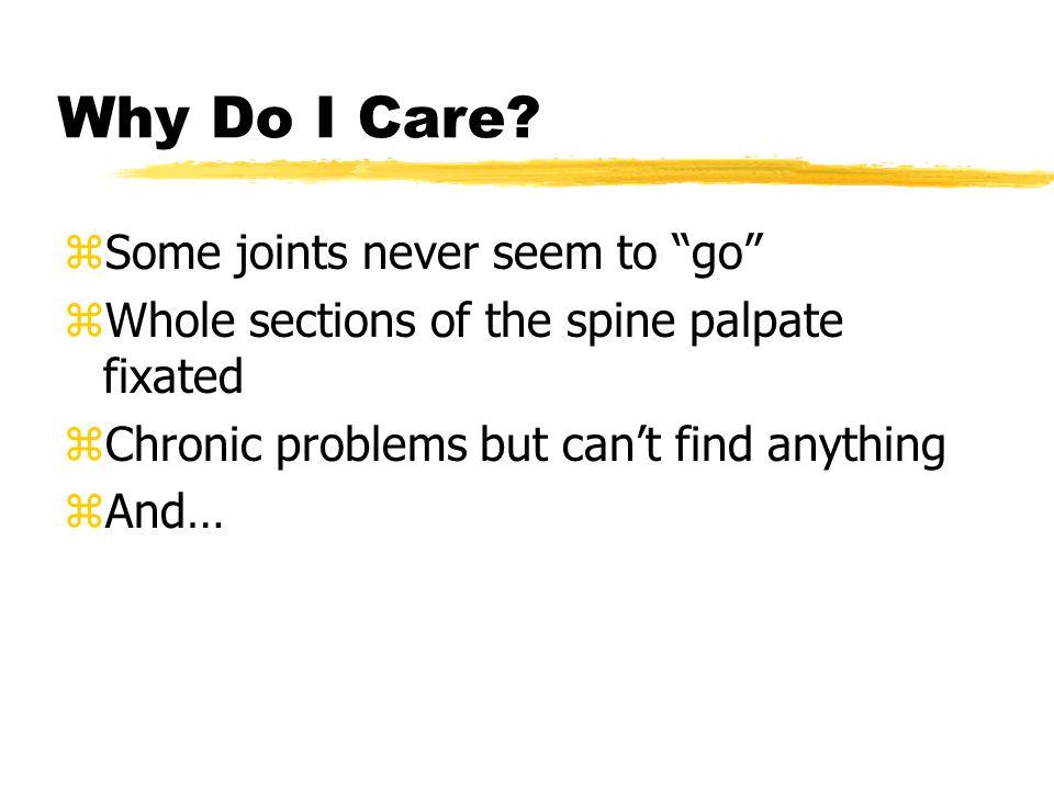 Why Do I Care.